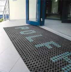 Openwork Mat Distributor Of Entrance Mats Ireland Front