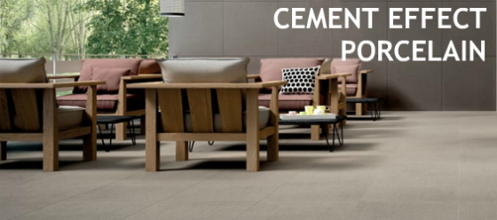 cement effect porcelain