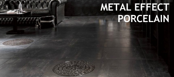 metal effect porcelain