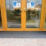 Centre Parcs - Disable entrance - Clean Brush Facility Flooring