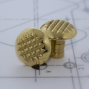 FF-BPYTS - Brass Pyramid Tactile Stud