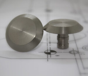 Low Domed Demarcation Studs (3)