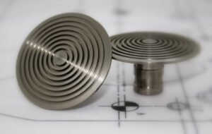 Low Domed Demarcation Studs (4)